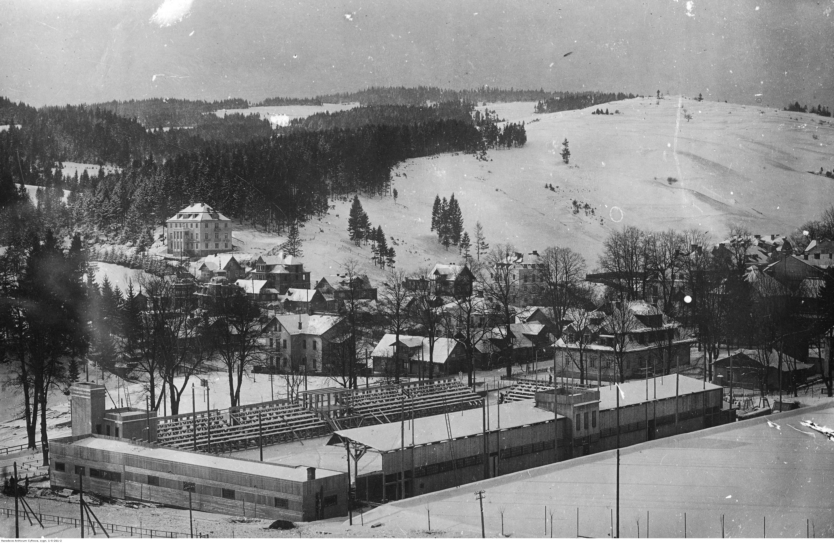 krynicki stadion 1931 r.